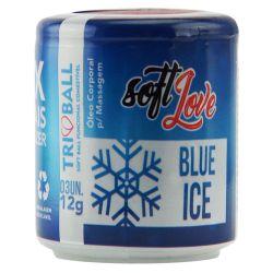 TRIBALL BOLINHA BLUE ICE 12 G 03 UNIDADES  - SABOR TUTTI FRUTTI                                                  LIBYSEXSHOP